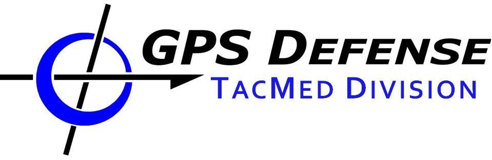 GPS TacMed Blue 2
